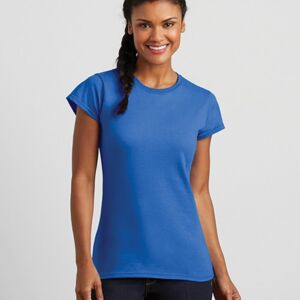 Ladies Fitted Soft Style T Shirt by Gildan Thumbnail