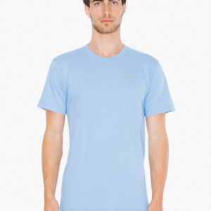 Fine Jersey Crew T Shirt by American Apparel Thumbnail