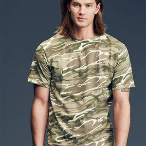 Camouflage Tee by Anvil Thumbnail